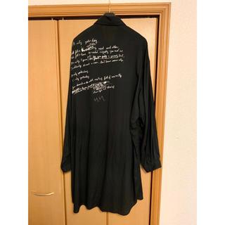 Yohji Yamamoto - yohji yamamoto pour homme リリックシャツ
