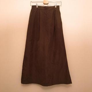 titivate - ﹡ピーチスキンタックフレアロングスカート﹡