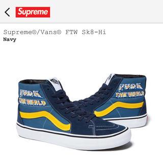 シュプリーム(Supreme)のSupreme®/Vans® FTW Sk8-Hi. 28cm(スニーカー)
