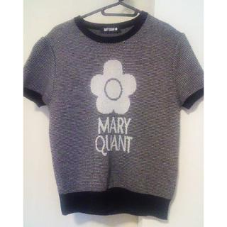 MARY QUANT - 美品マリークワント半袖ニット