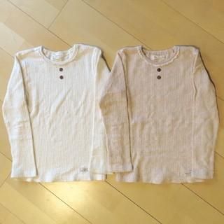 ビケット(Biquette)のBiquette ロンT 120cm 2枚セット(Tシャツ/カットソー)