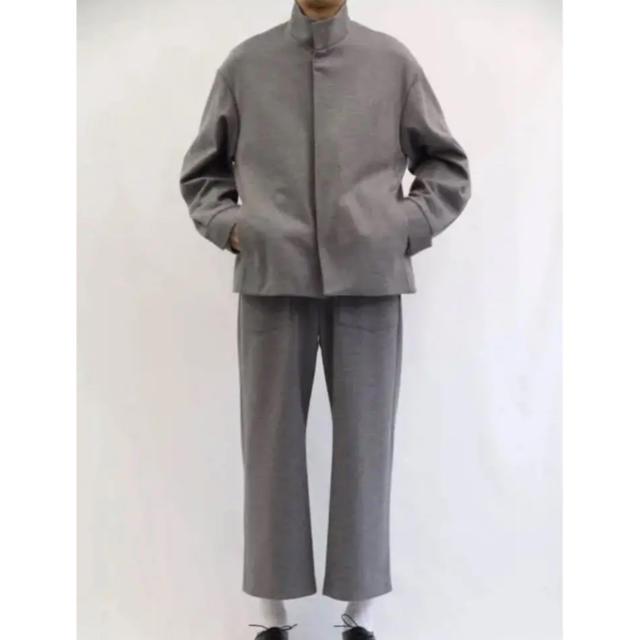 COMOLI(コモリ)のURU 18AW マリンパンツ グレー サイズ1 最終値下げ メンズのパンツ(スラックス)の商品写真