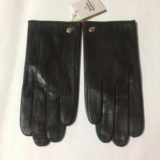 ヴィヴィアンウエストウッド(Vivienne Westwood)のVivienne Westwood こげ茶 羊革 手袋(手袋)