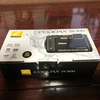 Nikon - Coolpix w300 ブラック クールピクス 新品未使用品