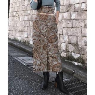 Ameri VINTAGE - 新品未使用!Ameri Vintage★ペイズリー ラグ スカート