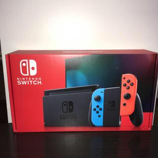 Nintendo Switch - Nintendo switch 新型ネオンカラー