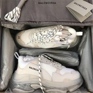 Balenciaga - balenciaga クリアソール white triple s