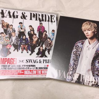 THE RAMPAGE - SWAG&PRIDE 吉野北人アザージャケット付