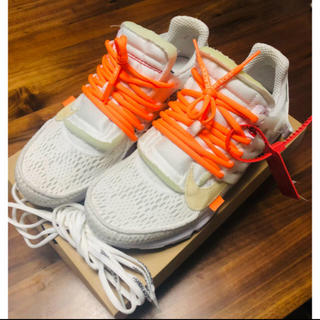 NIKE - NIKE OFF-WHITE THE TEN AIR PRESTO 28cm