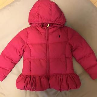 POLO RALPH LAUREN - ラルフローレン  ダウン ジャケット サイズ6 120㎝ 女の子 コート 上着
