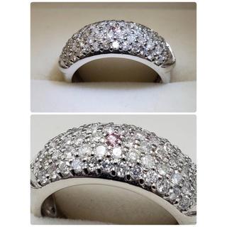 パヴェ ダイヤモンドリング  1カラット