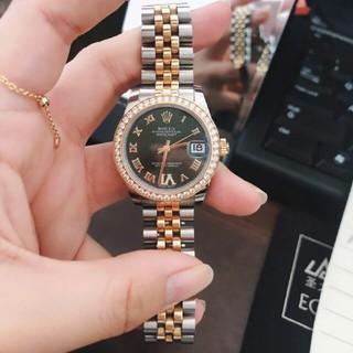 ROLEX - ロレックスの新型日誌型機械女子時計オリーブグリーン