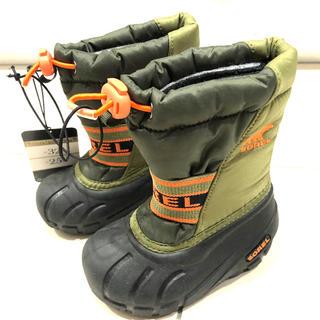 ソレル(SOREL)の新品SORELソレルキッズスノーシューズベビー男の子女の子ウィンターブーツ防寒靴(ブーツ)