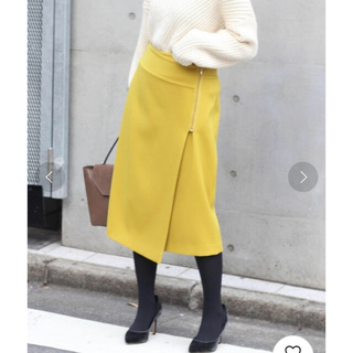 Noble - T/Wダブルクロスラップスカート◆ サイズ36 週末SALE