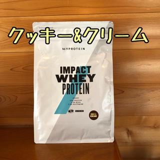 MYPROTEIN - クッキーアンドクリーム 1kg インパクトホエイ 【マイプロテイン】