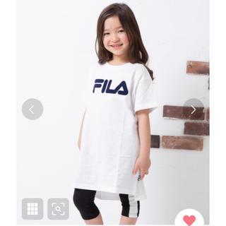 フィラ(FILA)のFILA ZOZO限定 FILA/フィラ 半袖ロゴワンピース (ワンピース)