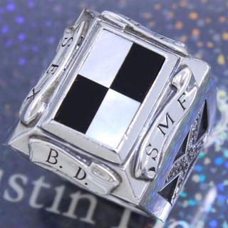 ジャスティンデイビス(Justin Davis)のジャスティンデイビス 17号 S.E.X.リング 高級 希少 人気(リング(指輪))