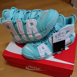 NIKE - AIR MORE UPTEMPO (GS) 23.5cm