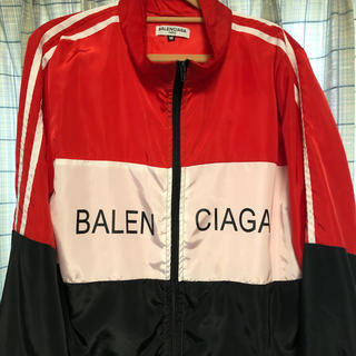 バレンシアガ(Balenciaga)のBALENCIAGA ウィンドブレーカー Mサイズ(ナイロンジャケット)