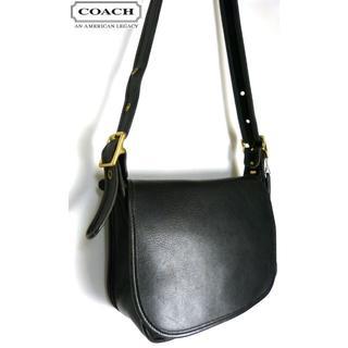 COACH - オールドコーチ COACH コーチ 本革 フラップ ショルダーバッグ【中古】