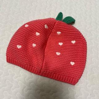 babyGAP - ベビー ギャップ babygap いちご 帽子 苺 ピンク 赤ちゃん 女の子
