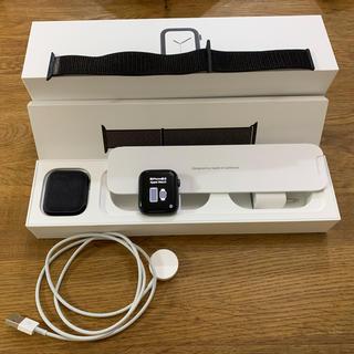 アップルウォッチ(Apple Watch)の【値下げ‼︎】アップルウォッチ series4 44㎜ GPSモデル(腕時計(デジタル))