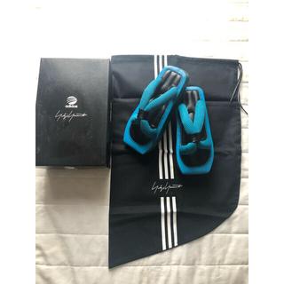 Yohji Yamamoto - 希少/付属品付 Yohji Yamamoto × adidas 芸者サンダル水色