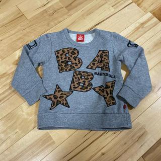 ベビードール(BABYDOLL)のBABY DOLL☆トレーナー☆100(Tシャツ/カットソー)
