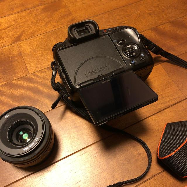 SONY(ソニー)のSONY a57&DT35mmF1.8&sigma 17-50mmF2.8 スマホ/家電/カメラのカメラ(デジタル一眼)の商品写真