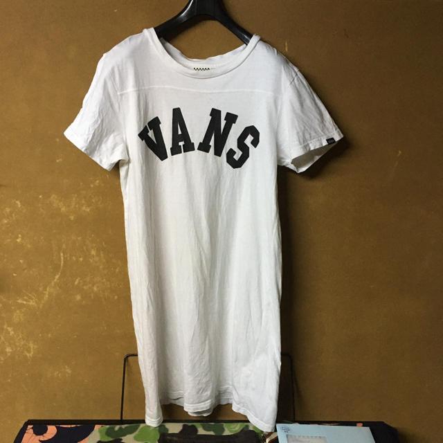 VANS(ヴァンズ)のバンズVANS Tシャツ ワンピース レディースのトップス(Tシャツ(半袖/袖なし))の商品写真