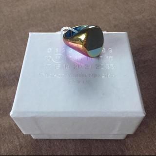マルタンマルジェラ(Maison Martin Margiela)の求 L マルジェラ 偏光カラー リング(リング(指輪))