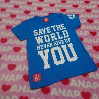 ベビードール(BABYDOLL)のBABYDOLL  90㎝半袖  ブルー(Tシャツ/カットソー)