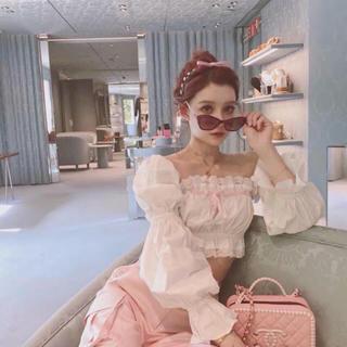 Bubbles - 韓国ファッション💖人気商品💖レースブラウス