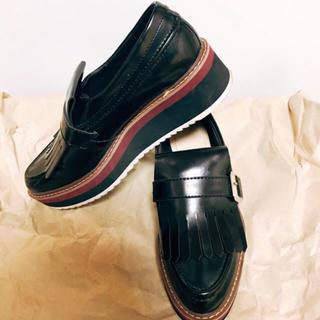ザラ(ZARA)の厚底タッセルローファー(ローファー/革靴)