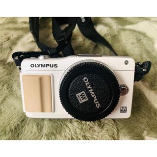 OLYMPUS - OLYMPUS ミラーレス一眼 PEN mini E-PM2 レンズキット