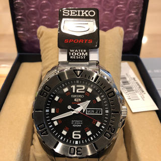 SEIKO - 10/20まで!新品未使用SEIKO 腕時計 セイコー5 SPORTS 自動巻