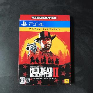 PlayStation4 - レッド・デッド・リデンプション2:アルティメット・エディション