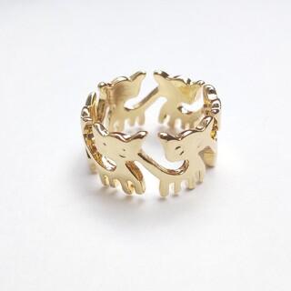 ゾロゾロ猫の指輪(リング(指輪))