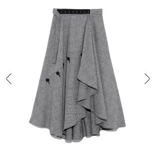 FRAY I.D - チェックツイードスカート