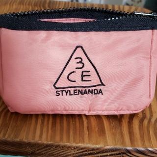STYLENANDA - 3ce ポーチ ピンク