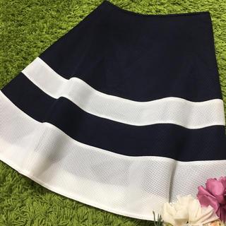 M'S GRACY - 美品エムズグレイシー レディボーダースカート