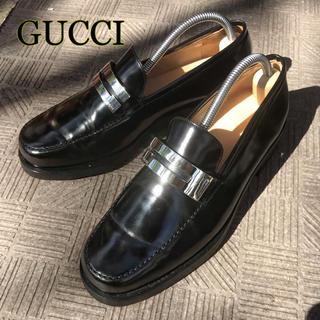 Gucci - 【GUCCI】グッチ 35.5サイズ 約25.5 ビットローファー レザー 革靴