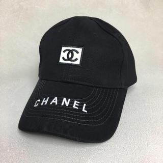 CHANEL - 【CHANEL ロゴキャップ】即日発送★送料無料