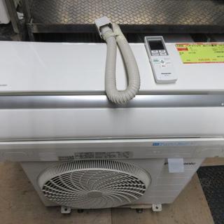パナソニック(Panasonic)のK886 パナソニック 中古エアコン 主に10畳用 冷2.8kw/暖3.6kw(エアコン)