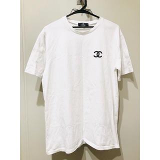 9800円 idiot購入 シャネル Tシャツ メンズ レディース dude9
