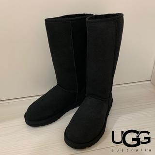 アグ(UGG)の【未使用】UGG アグ クラシック トール ムートン ブーツ 25.0㎝(ブーツ)