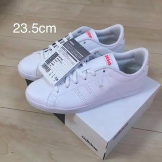 adidas - 新品 アディダス  23.5cm スニーカー ホワイト