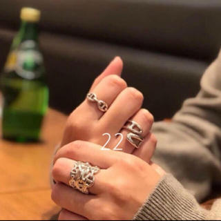 アパルトモンドゥーズィエムクラス(L'Appartement DEUXIEME CLASSE)のエルメス リング silver925.       3タイプ(リング(指輪))