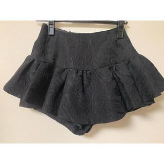 スナイデル(snidel)のスナイデル  紗栄子着用  ペプラム付きショートパンツ(ショートパンツ)
