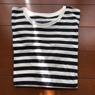 MUJI (無印良品) - 無印良品 長袖tシャツ
